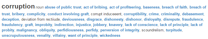 Corruption legal definition of corruption.clipular