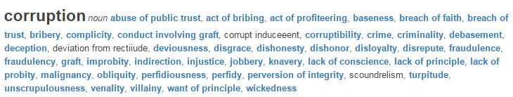 Corruption legal definition of corruption.clipular
