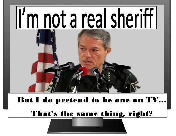 not a sheriff